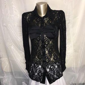 Twelve by twelve lace blouse